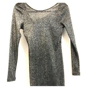 Divided Mini long sleeve sparkly dress